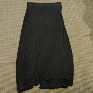 American Eagle black maxi skirt